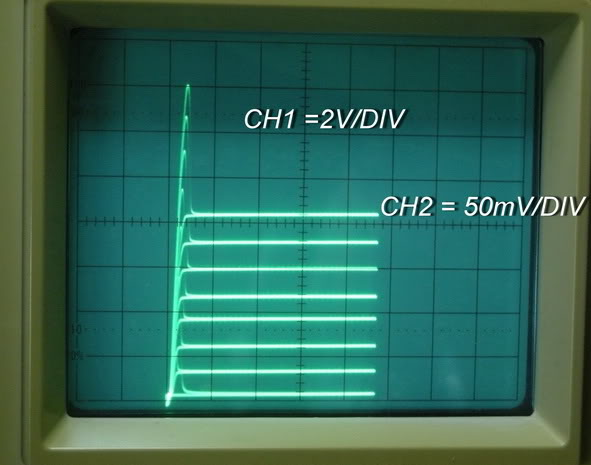 CH012 Transistor Curve Tracer adapter XY Oscilloscopes 2 ranges Bias