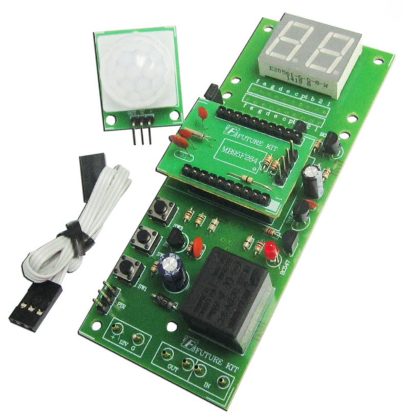 FK519 PIR-MOTION-SENSOR-WITH-DELAY-TIMER-Unassembled-kit     PIR-MOTION-SENSOR-WITH-DELAY-TIMER-Unassembled-kit  Details about  PIR MOTION SENSOR WITH DIGITAL DELAY TIMER