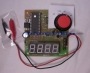 10pF to 9999uF Capacitance Meter Seven Segment Display