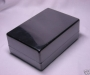 DIY Project BLACK ABS Plastic Box  10 x 14.7 x 5.5 cm.