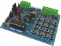 MXA085 AUTOMATIC CALLING 5 Number for Security system 12VDC application board