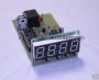 UP-DOWN Counter 0-9999 with Relay Control KIT 12V DC